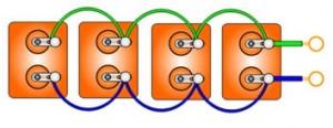 Определение емкостей фазосдвигающих конденсаторов. Рабочий и пусковой конденсаторы