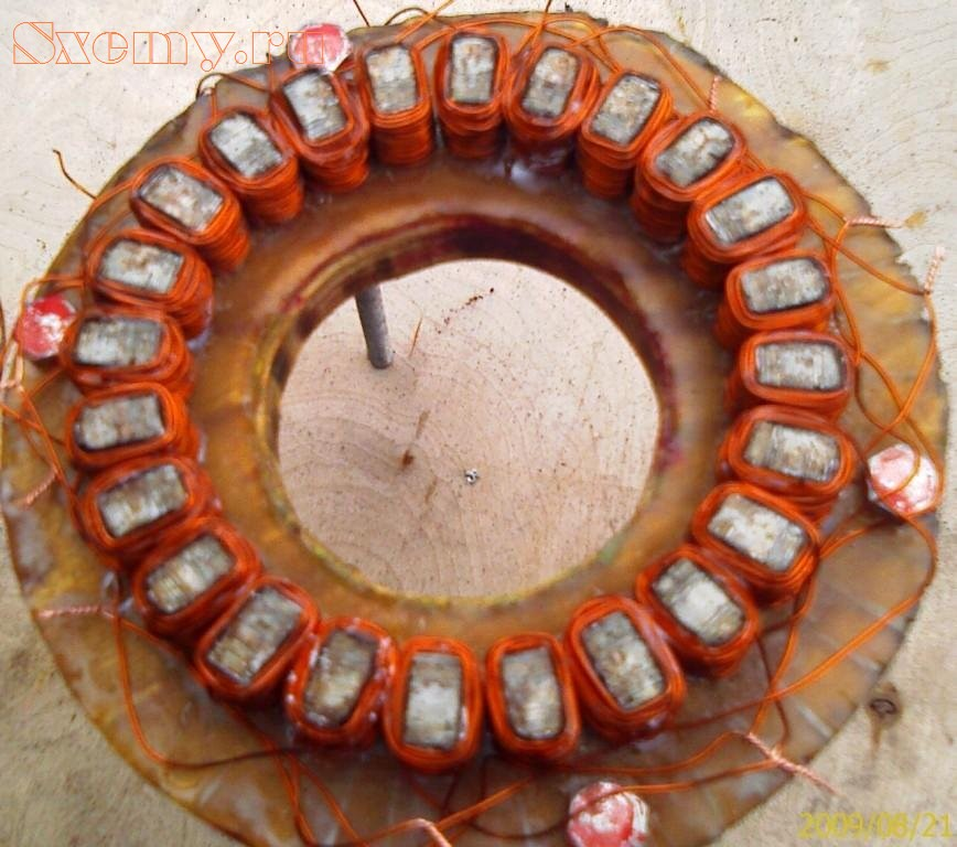 Генераторы на неодимовых магнитах своими руками 884