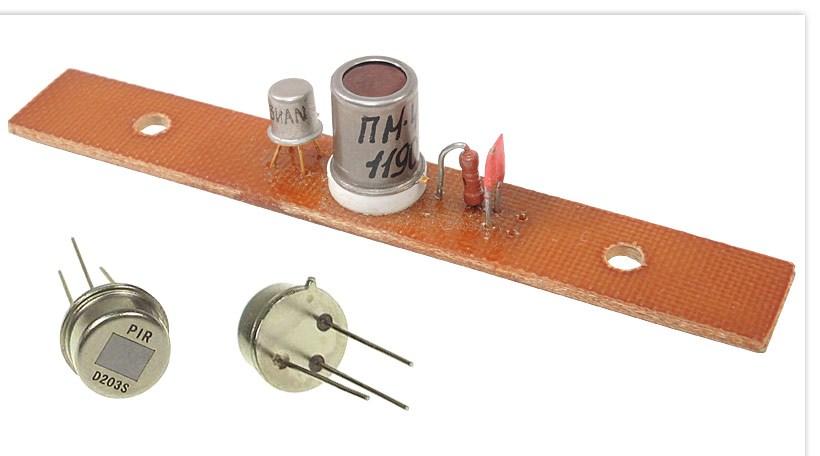 Инфракрасный датчик температуры своими руками