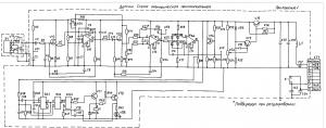 - электрическая схема датчика (Извещатель ИОП 409-1»).