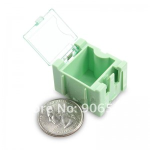 коробочка для хранения SMD компонентов