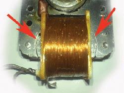 Снятие обмотки с бытового вентилятора