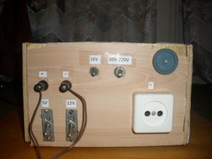 Самодельный трансформатор напряжения