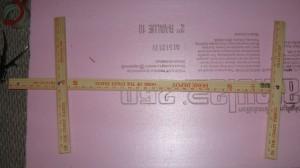 Рамка из линеек
