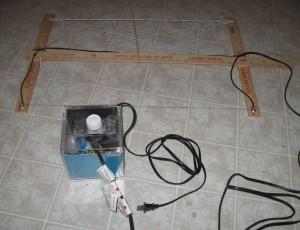 Готовая конструкция терморезака