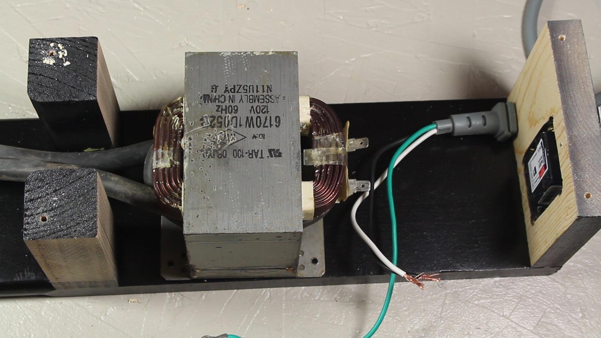 Сварочный аппарат своими руками из трансформатора от микроволновки