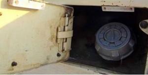 Охранный датчик для бензобака 2