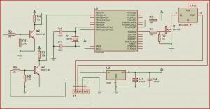 Блок управления ДХО - схема