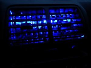 Подсветка дефлекторов
