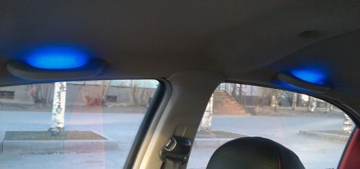Подсветка ручек в авто