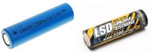 емкость батареек