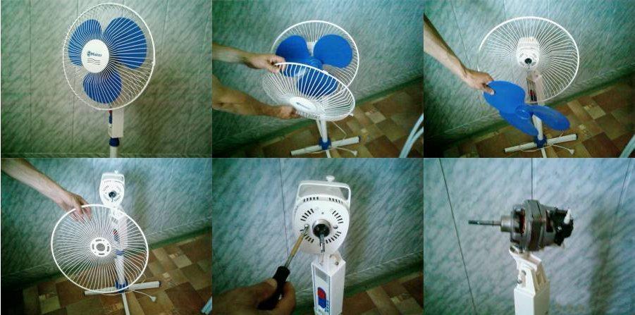 Ремонт вентилятора своими руками