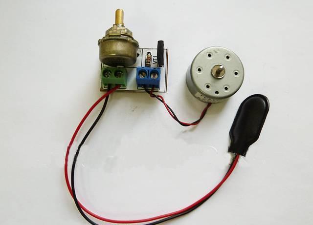 Схема регулировки оборотов двигателя постоянного тока 12в фото 114