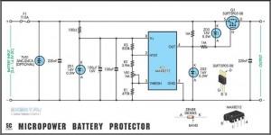 Универсальная защита для аккумуляторов