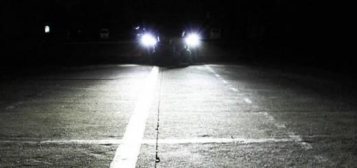 Светодиодные фары автомобиля