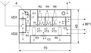 Детектор электромагнитных волн