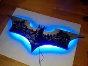 Ночник «Бэтмен» своими руками