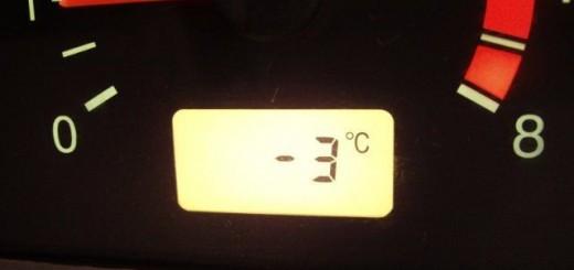 Установка датчика температуры внешнего воздуха