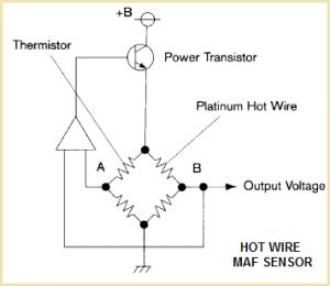 Датчик для измерения воздушного потока