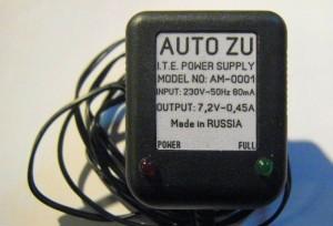Сборка зарядного устройства для глеевых АКБ