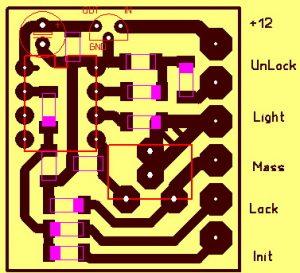 Устройство «вежливый свет» для машины