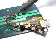 Самодельная солнечная батарея для телефона