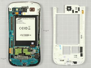 Разборка телефона Samsung Galaxy SIII