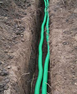 Правила прокладки кабеля в земле