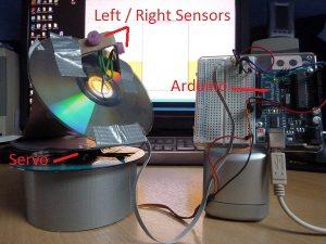 Самодельный трекер для солнечных батарей на Arduino