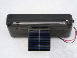 Радио на солнечной батарее