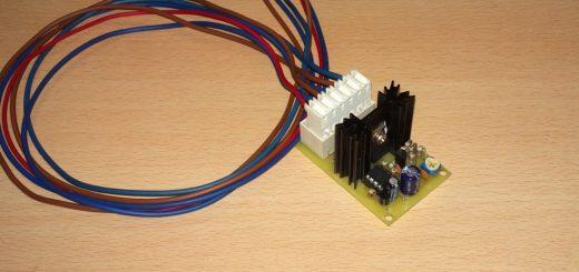 Контроллер электровентилятора охлаждения двигателя на pic12f675