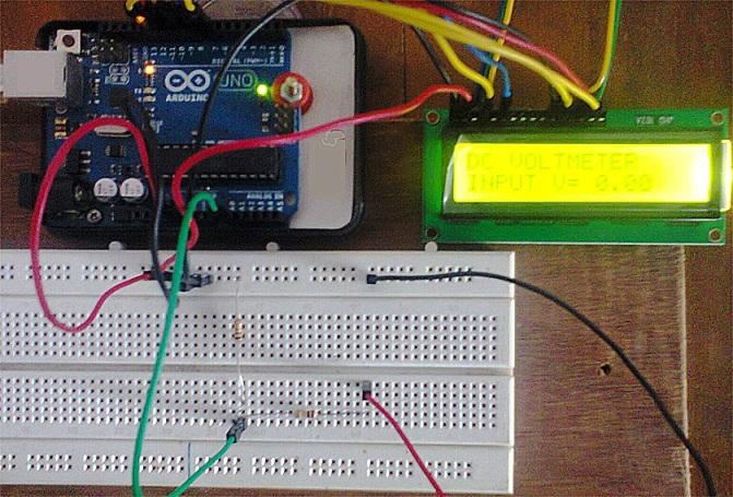Вольтметр на Arduino - Каталоги схем и самоделок