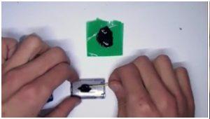 корпус от китайской звуковой карты USB