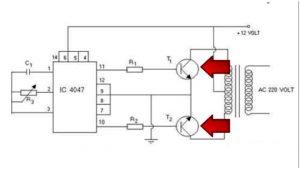 Схема с биполярными транзисторами