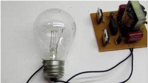 страховочная лампа накаливания