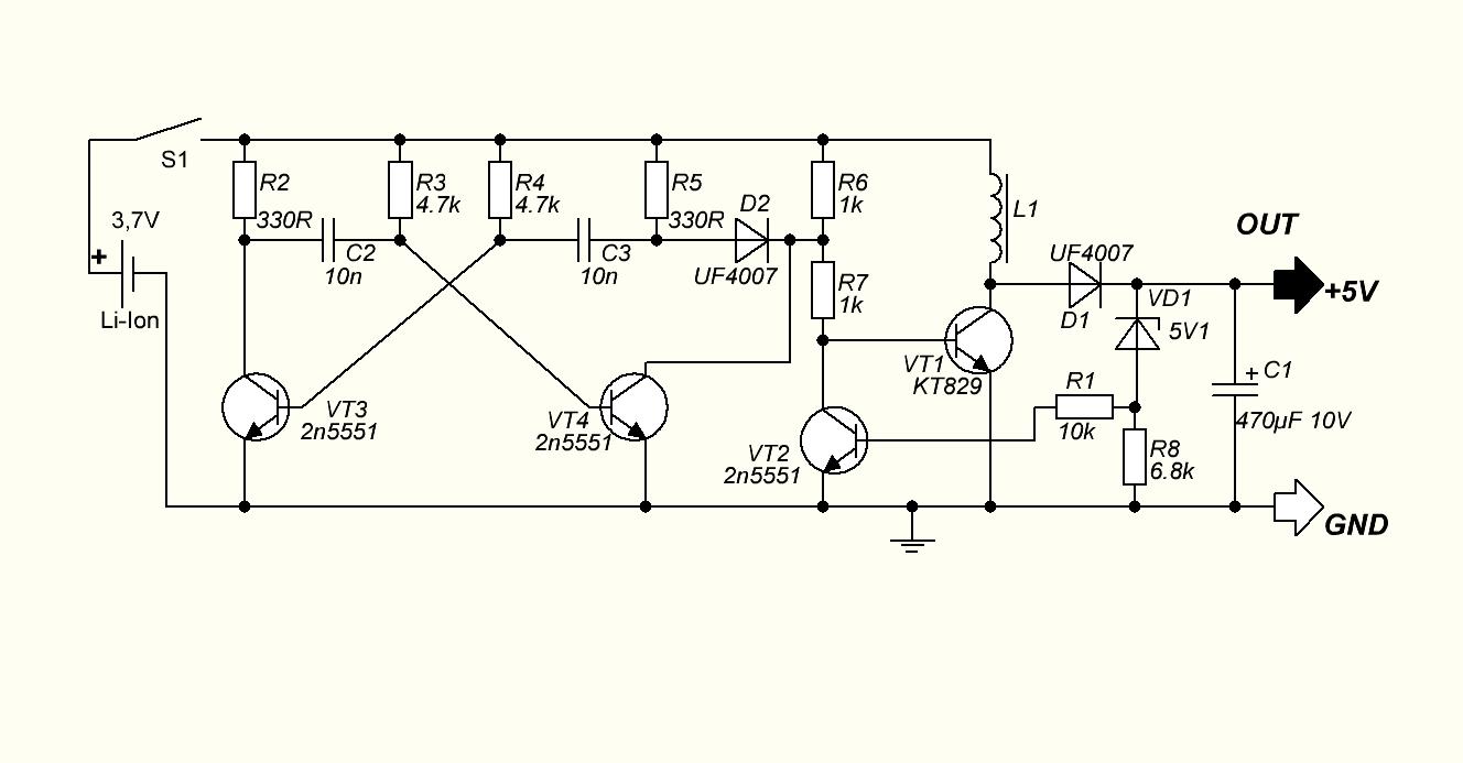 Tp4056 power bank своими руками схема 2