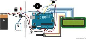 Подключение процессора ATtiny85