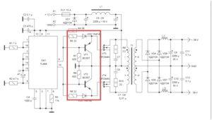 драйвер на транзисторах