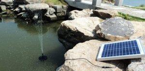 Насос на солнечной батарее