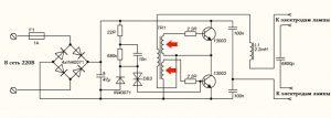 трансформатор обратной связи потоку