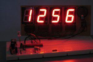 Часы с LED-индикаторами на Arduino