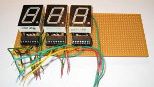 Подключение 7-сегментных индикаторов к регистрам 74HC595