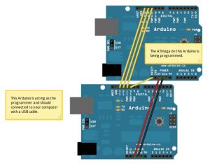 Arduino сделать программатором