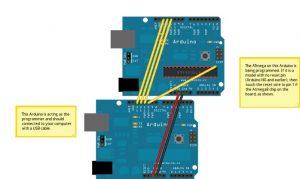 Схема подключений  Arduino NG