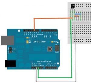 Подключение датчиков и Bluetooth модуля