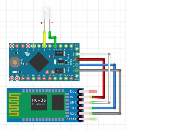 Arduino робот своими руками c пультом wi-fi