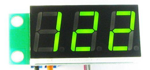 Цифровой термометр в машину