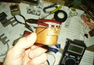 Переделка трансформаторов - ТВЗ-1-9 под нагрузки 8 и 16 Ом