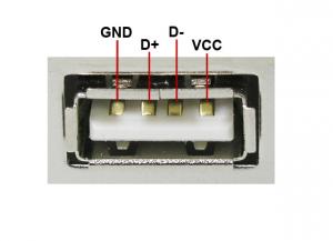 Самодельный источник питания USB в машине