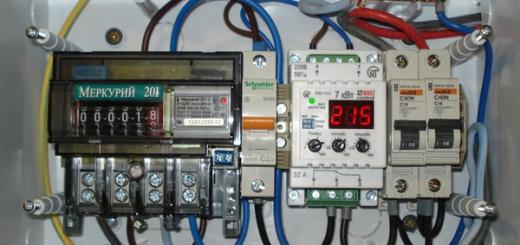Подключение и монтаж точечных светильников